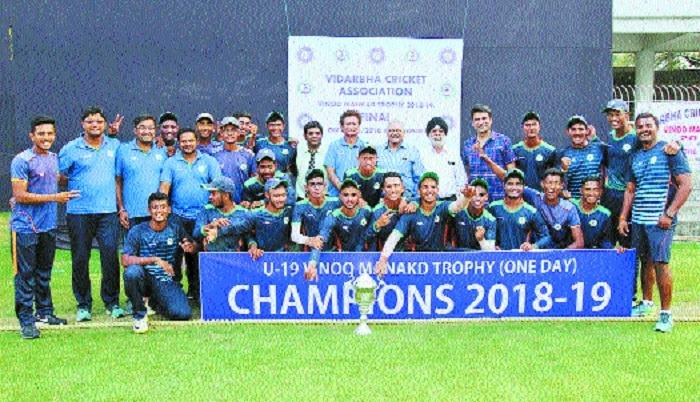 Vidarbha lift maiden Vinoo Mankad Trophy
