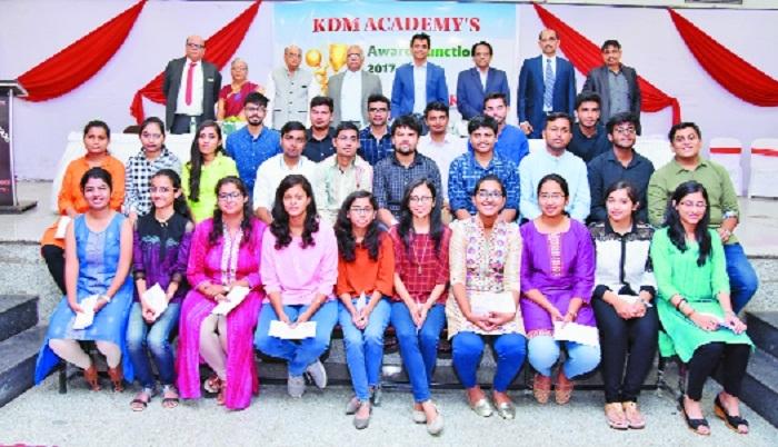 KDM Academy fetes students