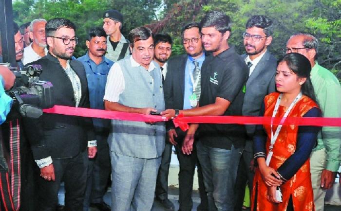 Gadkari inaugurates Fab Lab
