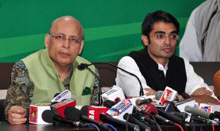 Singhvi opens attack on BJP