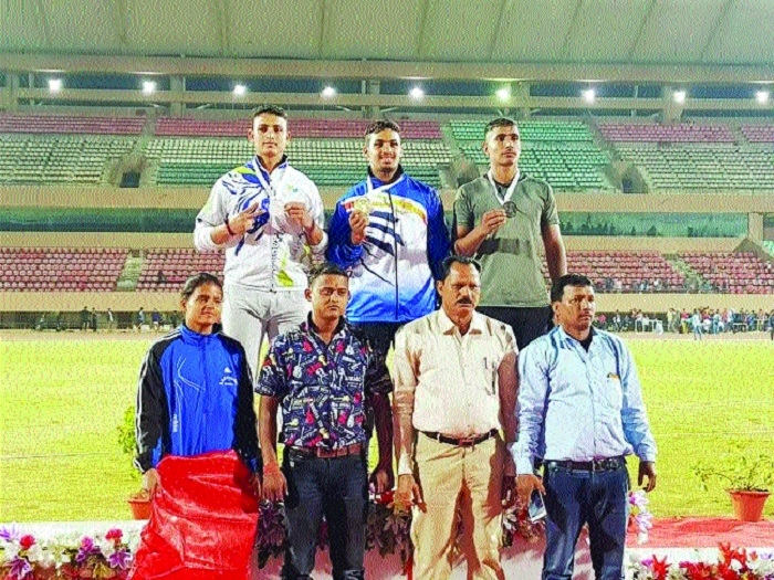 Avinash creates new national record in long jump