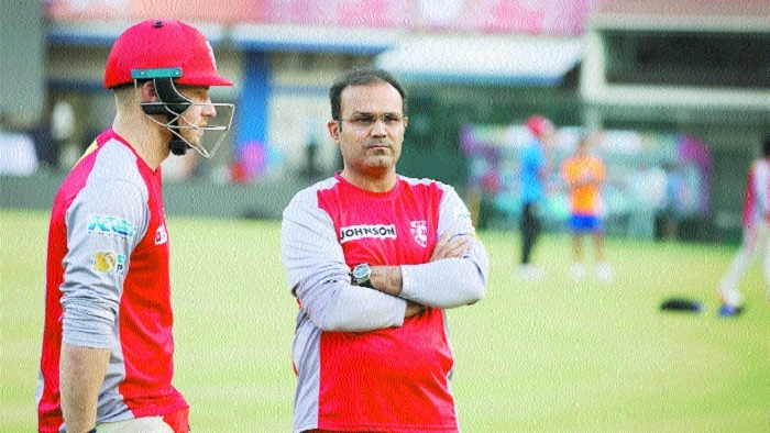Sehwag no longer part of KXIP