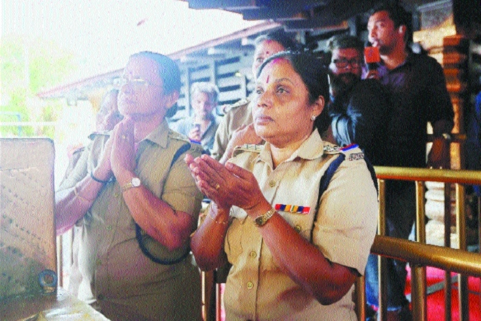 Sabarimala opens yet again but no 'barred' age-group women spotted