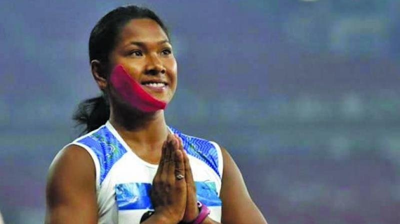 Swapna to get seven pairs of customised footwear