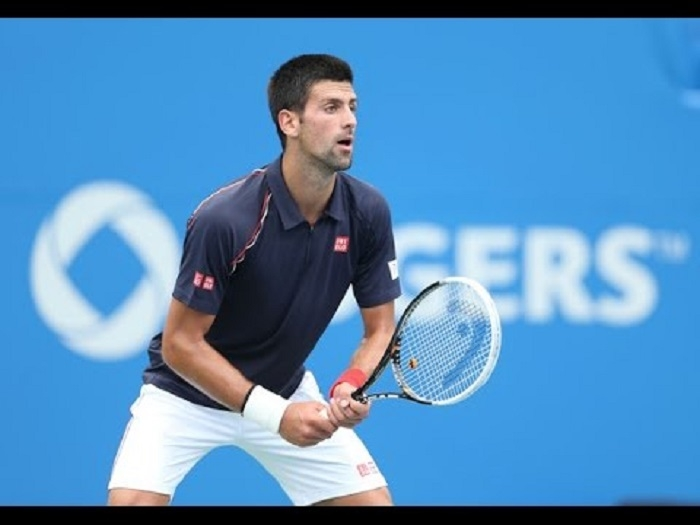 Djokovic on top of the world