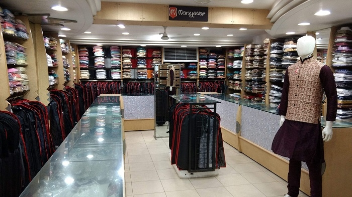 Exclusive men's ethnic section at Gayson's