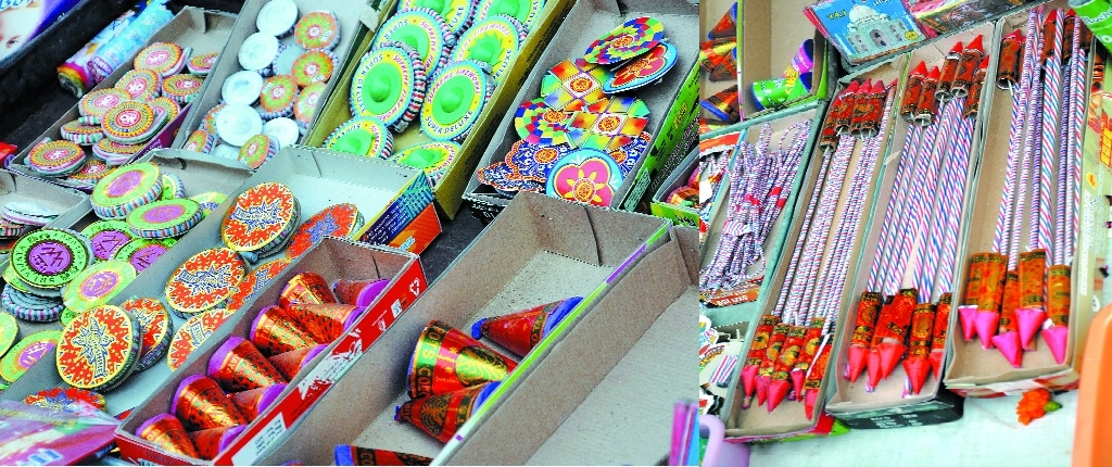 Fancy, eco-friendly crackers take front seat this Diwali