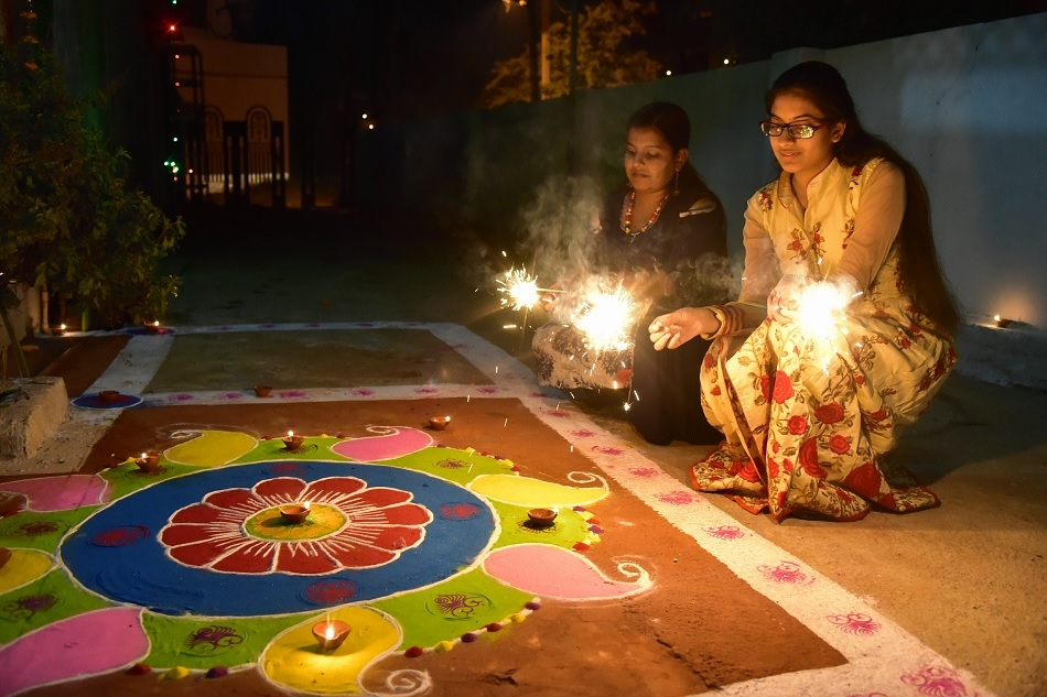 Puja, sweets, fireworks complete Diwali