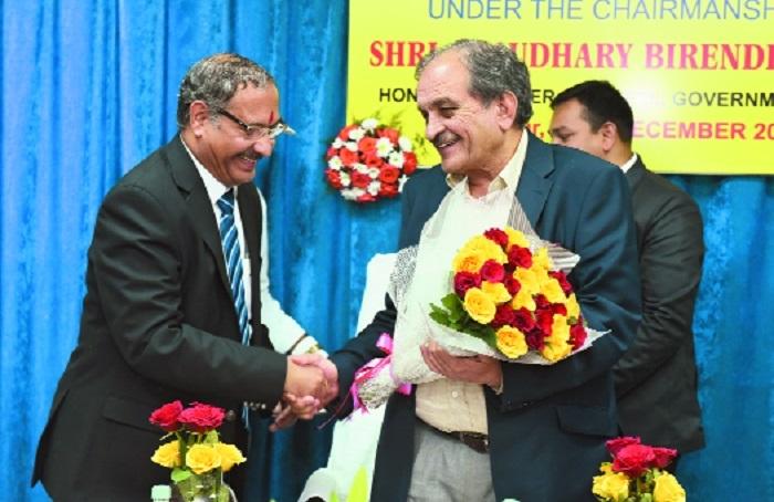 Union Steel Minister Chaudhary Birender Singh visits MOIL Ltd
