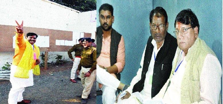 BJP, Congress win 3 seats each in Bhopal