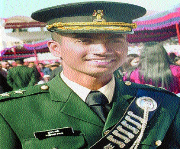 Permanent Commission in Army for Tushar Fale