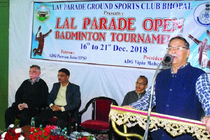 Lal Parade Open Badminton Tournament inaugurated
