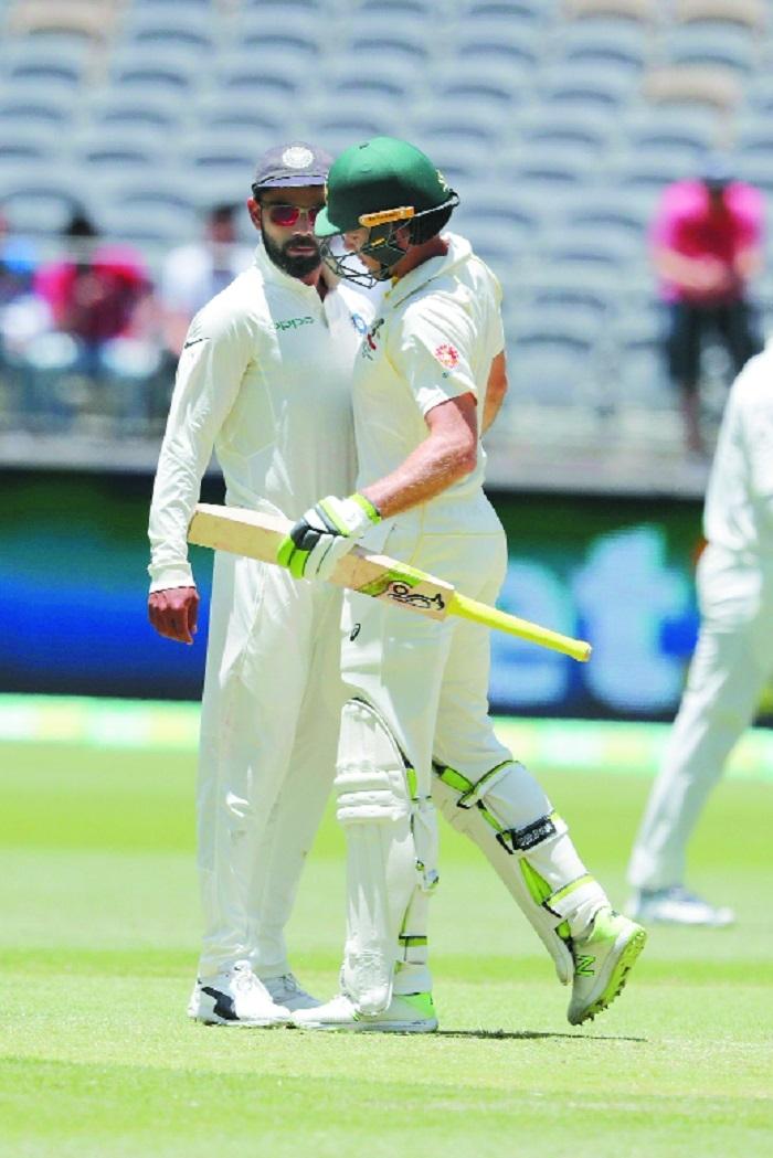 Verbal duel between Kohli and Paine done in good spirits: Hazlewood