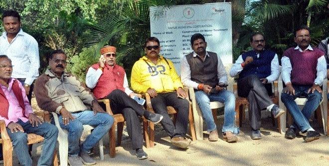 Water crisis hits Capital; BJP corporators hold demonstration