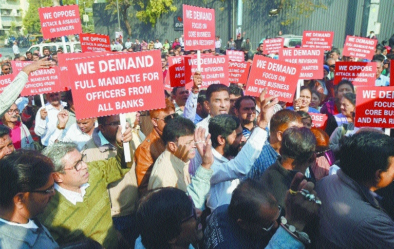 Bank strike hits services; ops to be restored from today
