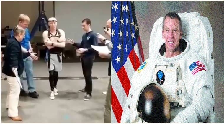 NASA astronaut struggles to walk on Earth after 200 days in space