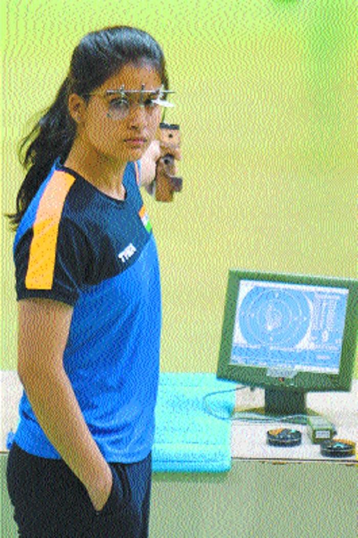 Manu wins women and junior 10m air pistol