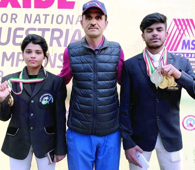 MP Equestrian Academy players bag 16 medals