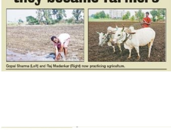 Leaving lucrative jobs they became farmers