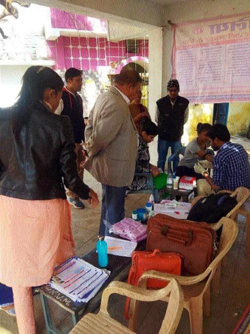 Jaundice outbreak: Medical camp held at Sahupara