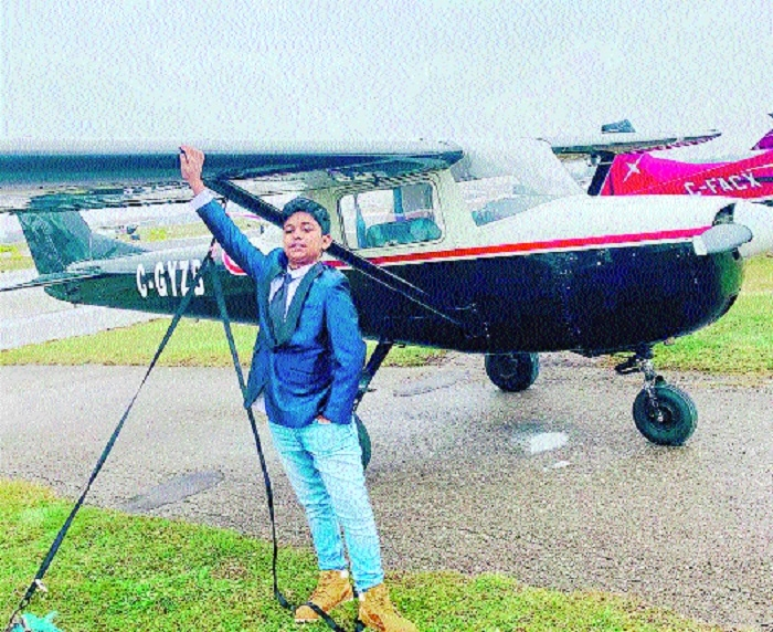 Youngest pilot to take solo in the world has Nagpur links
