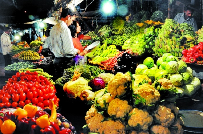 Over-supply brings down vegetable rates