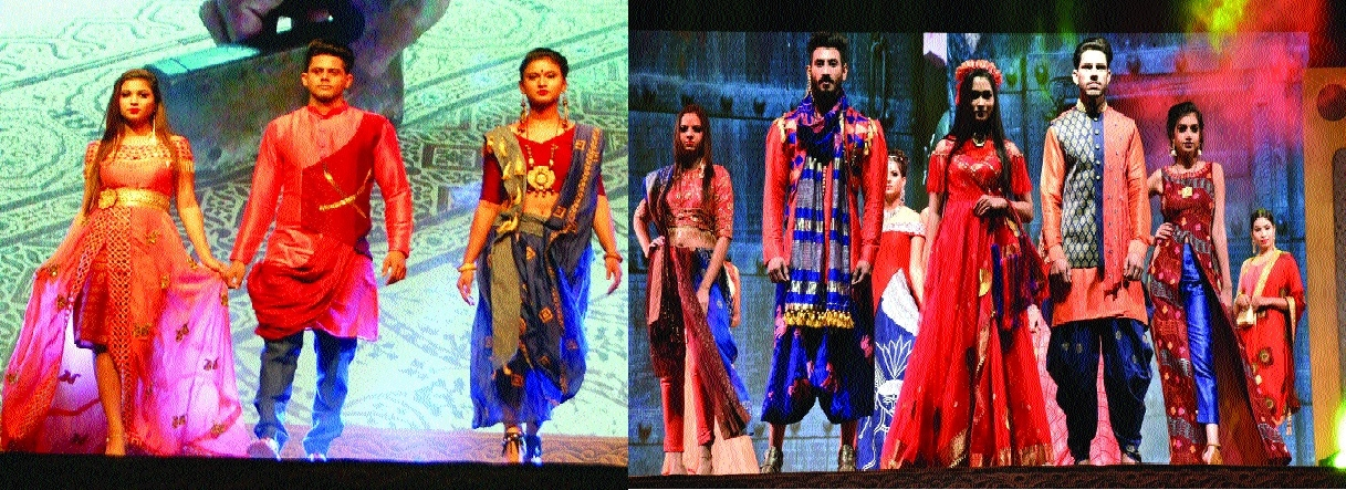 Glamour, glitz in fashion show organised at Hotel Lake View Ashok