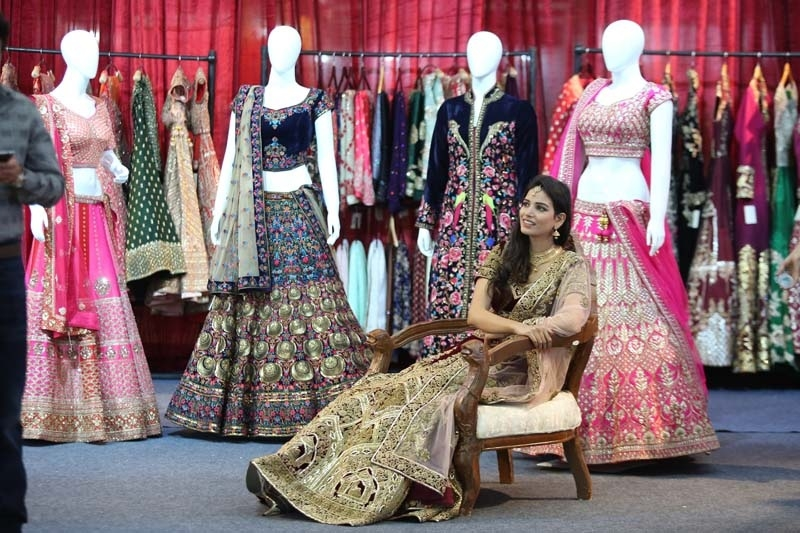 Manasvi Wedding Collection Expo ends today