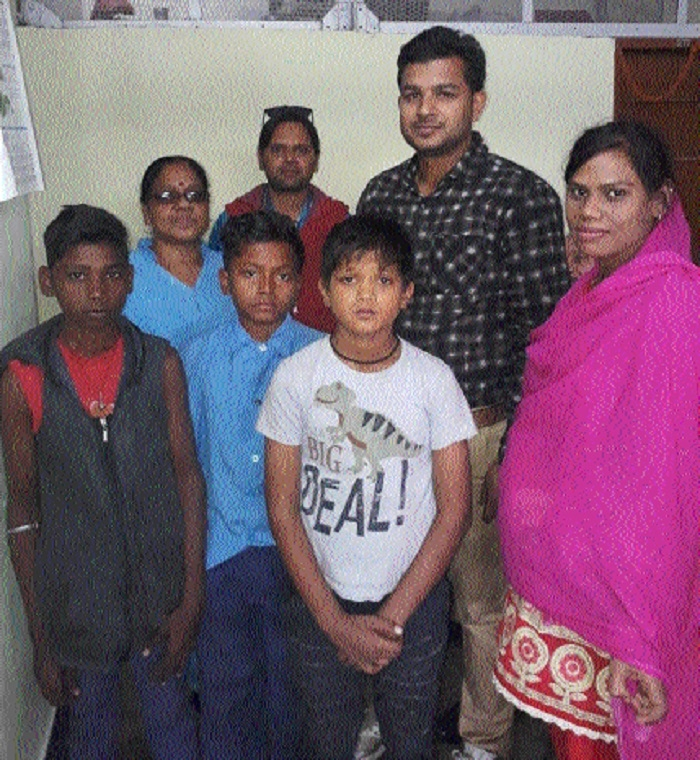 Three children recovered from Durg Railway Station