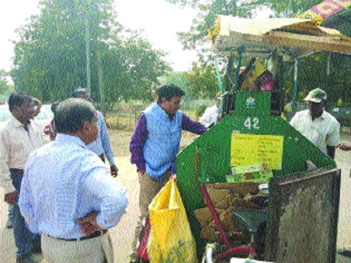 Sundarani inspects SLRM Centre