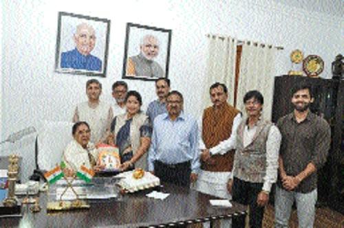 Governor meets Akhil Bharatiya Kurmi-Kshatriya Mahasabha delegation
