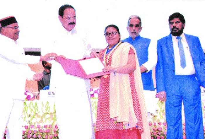 Shivani Gupta receives National Award for Empowerment of Persons with Disabilities