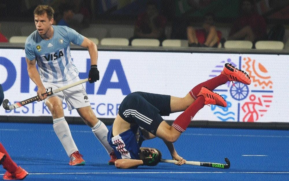 France stun Argentina