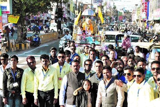 Procession marks Sant Ravidas Jayanti