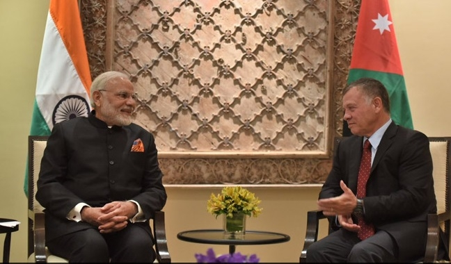 Modi, Jordan King agree to boost bilateral relations