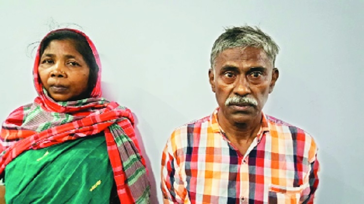 Naxalite couple held in Ballarpur