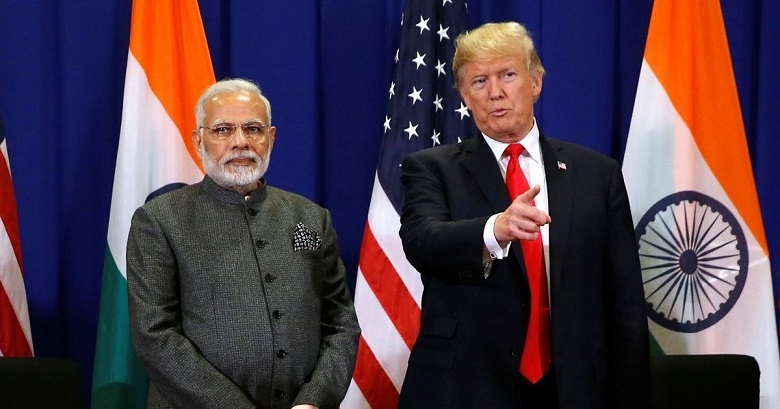 Trump, Modi express concern over Maldives