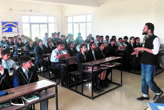 Career counselling sessions held at MM Intl School