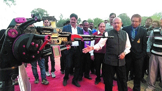 OFK Senior GM inaugurates Defence Exhibition