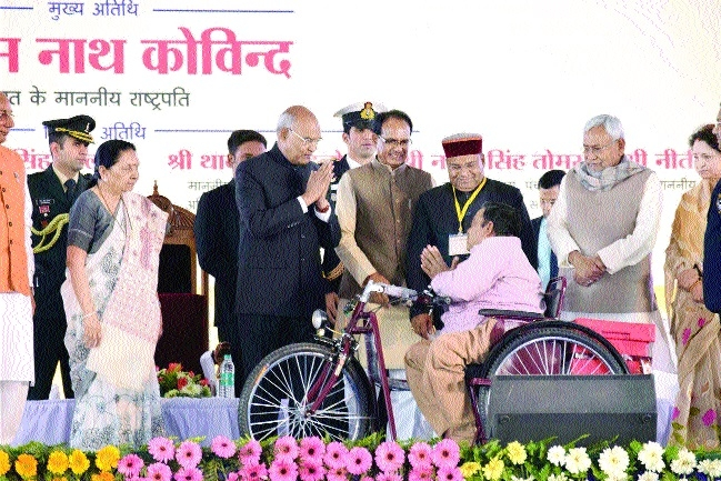 Disabled persons should make hidden talent their strength, says Kovind