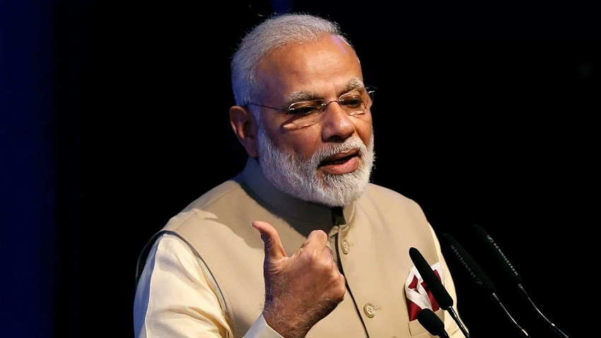 Modi takes dig at Cong; slams its 'style of misgovernance'