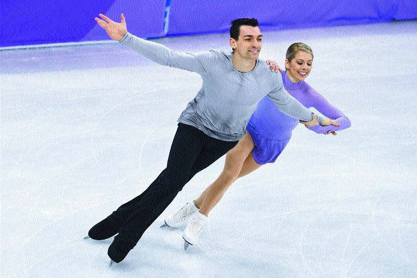 Love on ice—skating and dating at the Olympics