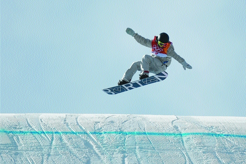 Take it as Red: Teen makes history as wind pummels Pyeongchang