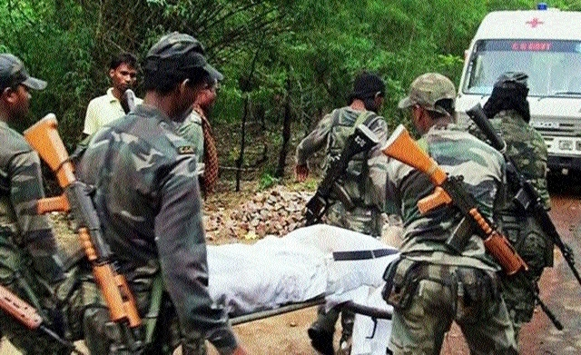 DRG trooper martyred in IED blast at Bijapur