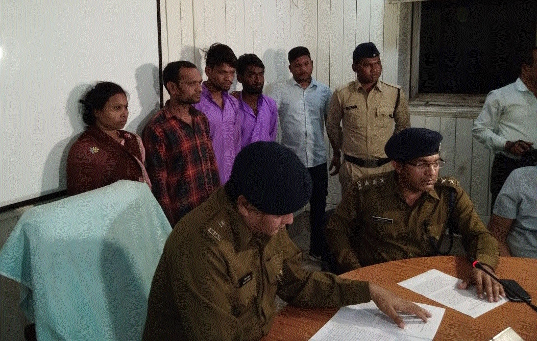 Four held for murder of 17-yr- old minor girl