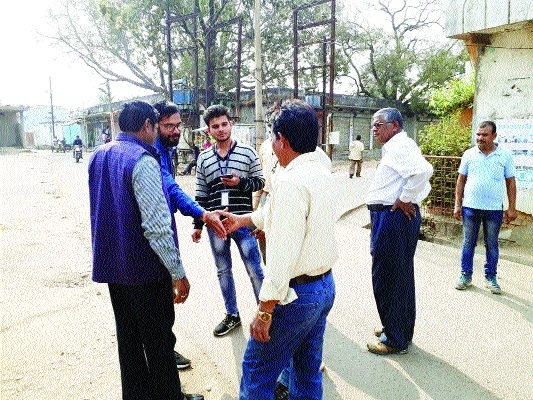 Cleanliness Survey team from Delhi inspects Dhanpuri wards