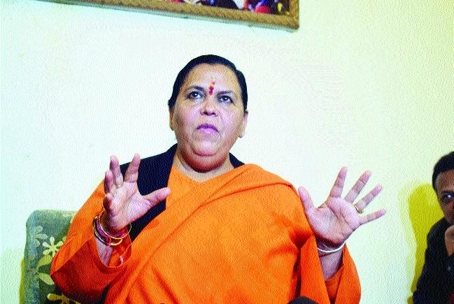 Uma Bharti not to contest polls for 3 yrs