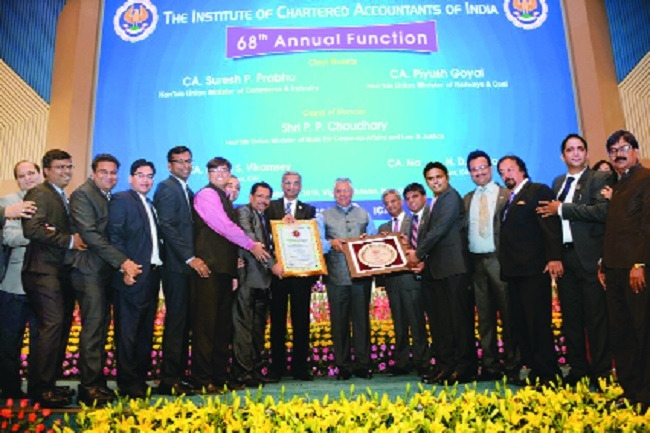 ICAI, Nagpur adjudged Second All-India Best Branch