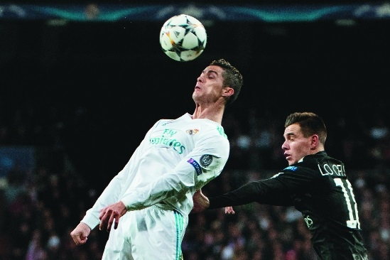 Zidane strikes back to win tactical battle with PSG