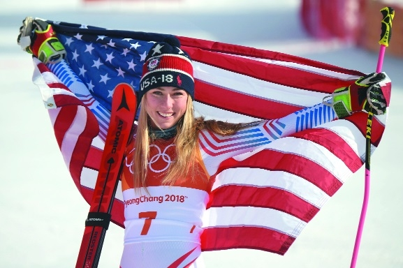 Shiffrin, German skaters claim tearful Olympic golds